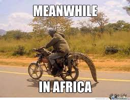 Africa Meme - meanwhile in africa by recyclebin meme center