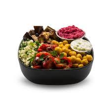 mediterranean mezze bowl snap kitchen milk free vegan gluten