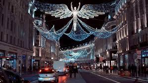wonderful christmas decoration in london beautiful regent street