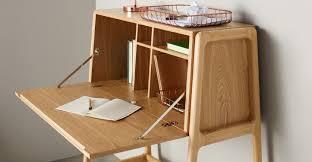 Small Bureau Desk by Asha Bureau Desk Ash And Black Made Com