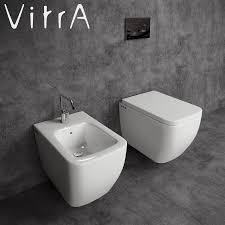 3d model toilet and bidet vitra shift cgtrader
