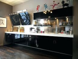 cuisine laqué noir meuble de cuisine noir laque buffet cuisine noir meuble cuisine
