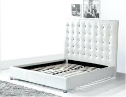 vinyl queen bed frame in te by mod set white with storage z u2013 euro