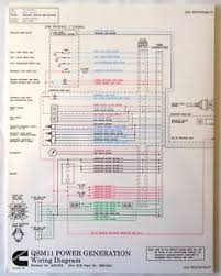 cummins laminated qsm 11 power generation wiring diagram ebay
