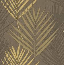 sirpi wallpaper evolution fern bronze metallic 20704