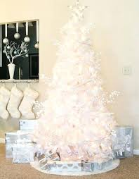 white tree with lights white tree ornaments most beautiful trees white christmas tree