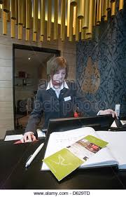 Front Desk Attendant Concierge Desk Stock Photos U0026 Concierge Desk Stock Images Alamy