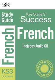 french inc audio cd study guide letts key stage 3 success