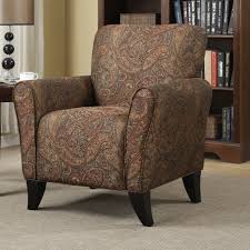 Printed Accent Chair Chair Printed Chairs Living Room Gorgeous Paisley Print Accent