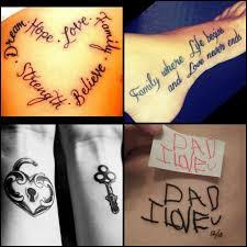 family tattoos tattoos meaningful tattoos tattoos