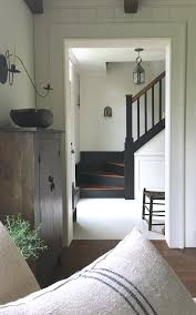 primitive colonial home decor love this simple farmhouse style old house entryway u0026 stairway