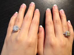 chagne diamond engagement ring how much did you spend on your engagement ring page 2 purseforum