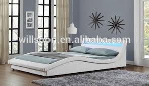european king bed european design bed double king size led bed pu leather bed 1111 1