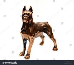 boxer dog statue copper statue boxer dog stock photo 2665432 shutterstock