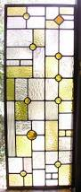 stained glass cupboard doors flw style leaded stained glass cabinet windows