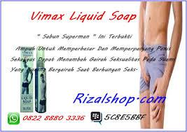 sabun pembesar penis vimax liquid soap kunena