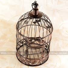 Wedding Gift Card Holder 34cm High A Cage For Birds Butterfly Decorated Bird Cages Garden