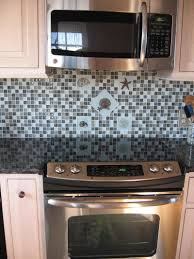 Glass Backsplash For Kitchens by Decorating Ideas Extraordinary Decoration For Kitchen Wall Using