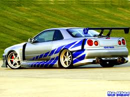 paul walkers nissan skyline drawing nissan fast car latest auto car