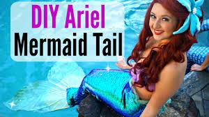 Mermaid Costumes Child Little Mermaid Costumes Diy Mermaid Costume Disney Little Mermaid Inspired Youtube