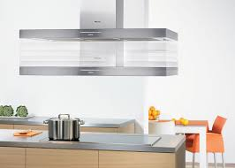 kitchen round stainless steel island kitchen hood with brown
