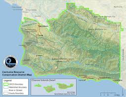 Solvang Map Map Of Service Area Cachuma Resource Conservation District