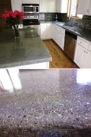Kitchen Countertops Laminate by Diy Concrete Counters Poured Over Laminate Diy Concrete