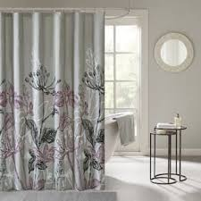 Purple Bathroom Curtains Purple Shower Curtains For Less Overstock Vibrant Fabric
