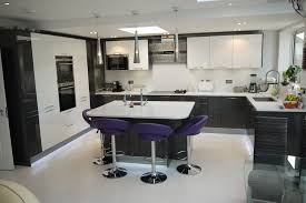 Purple Kitchen Designs by Kitchen Style New Ideas For Kitchen With Single Wall Layout