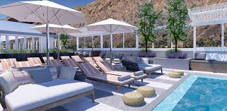 Palm Springs Outdoor Furniture by Kimpton The Rowan Palm Springs To Debut Fall 2017 U2014 Write On Rubee
