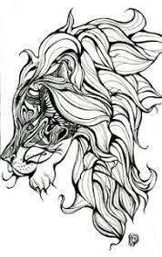 henna lion henna pinterest zoeken leeuw tatoeages en liefde