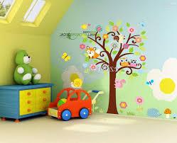 interior designrprising childs room decorated in jungle theme