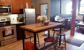 rustic kitchen island table bar large dining room table small dining room sets portable