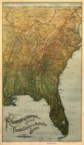 Vintage Florida Map by Washington And Old Dominion Railroad Wikipedia