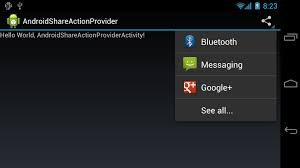 android os networkonmainthreadexception android er implement shareactionprovider for android 4