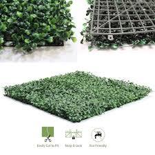amazon com synturfmats faux artificial boxwood hedge panels