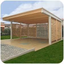 tettoia legno auto tettoie pensili in legno venezia treviso l arredo giardino