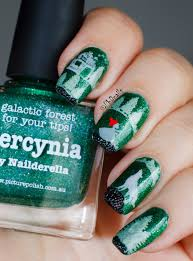 phd nails stamping nail art with picture polish hercynia and