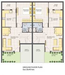 Duplex House Floor Plans 30x40 Duplex House Plans In India Youtube 30 X 40 Maxresde Luxihome