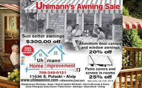 Sunsetter Awnings Reviews 300 Off Sunsetter Awning Uhlmann Home Improvement