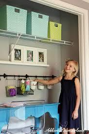 extra closet turned craft center addison u0027s wonderland