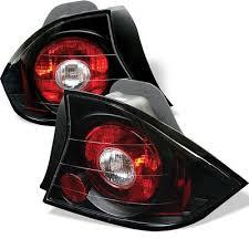 2001 honda civic tail lights honda civic coupe 2001 2003 jdm black altezza tail lights