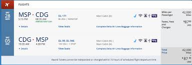 delta airlines baggage policy deal delta flights to europe for 21 000 skymiles 43 500