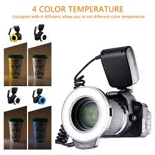 amazon fositan 18 led macro ring flash light nikon canon