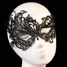 mask for masquerade black lace mask for floral masque cutout