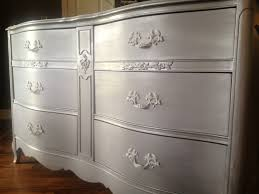 Kristen S Creations Glazing Painted by This Is The Touch That Silver Painted Furniture Needs Black