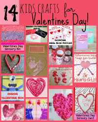 valentines day card and sensory play
