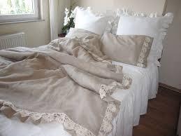 warm brown linen ikea duvet covers queen with lace with pure white