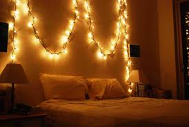 how to hang christmas lights in bedroom without nails image of