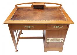 Kleine Schreibtische Aus Holz Verkauft Kleiner Schreibtisch Eiche Jugendstil Antiquitäten